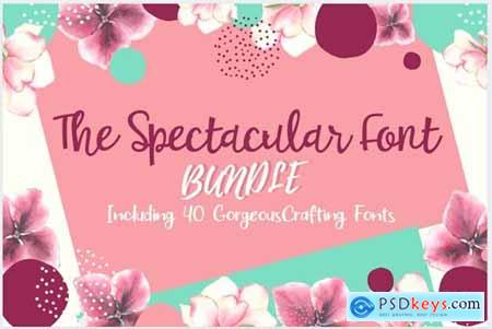 The Spectacular Font Bundle