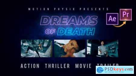 Action Thriller Movie Trailer Premiere PRO 25828977