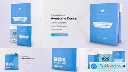 Box Product Pack Mockup Box Software Mock-up Cover Template 24824190