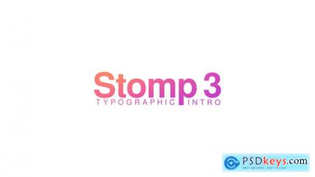 Stomp 3 - Typographic Intro 23876109
