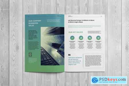 Corporate Business Brochure 4442346