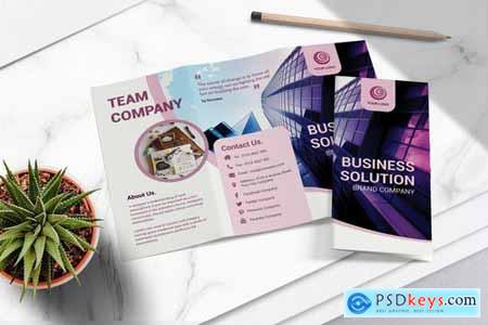 Business Tri Fold Brochure Vol.05
