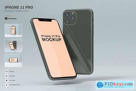 iPhone 11 Pro - Mockup FH