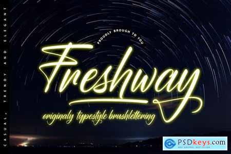Freshway Originaly typestyle Font