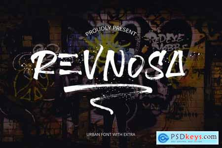 Revnosa Urban Brush Font