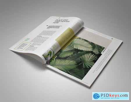 Theplant Magazine Template