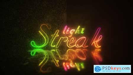 Light Streak Logo 4K UltraHD 25230413