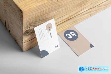 Minimalist Business Card - [code M]