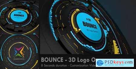 BOUNCE 3D Logo Opener 8132327