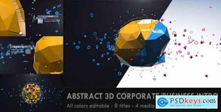 Abstract 3D Corporate Business Intro 5338943