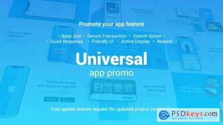 Universal App Promo 60 fps 24188459