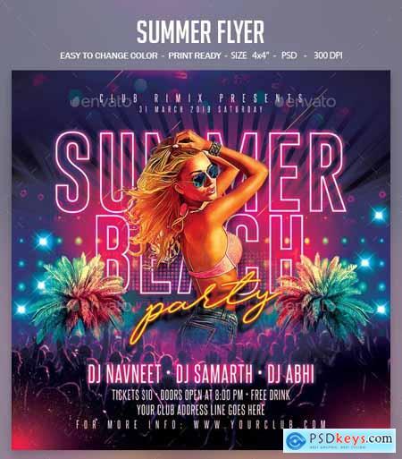 Summer Flyer 23780987