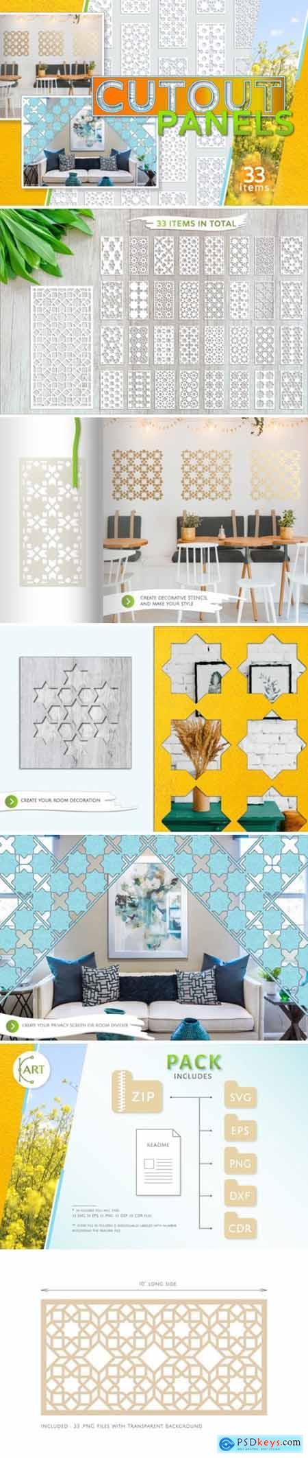33 Templates Arab Geometric Pattern 3039475