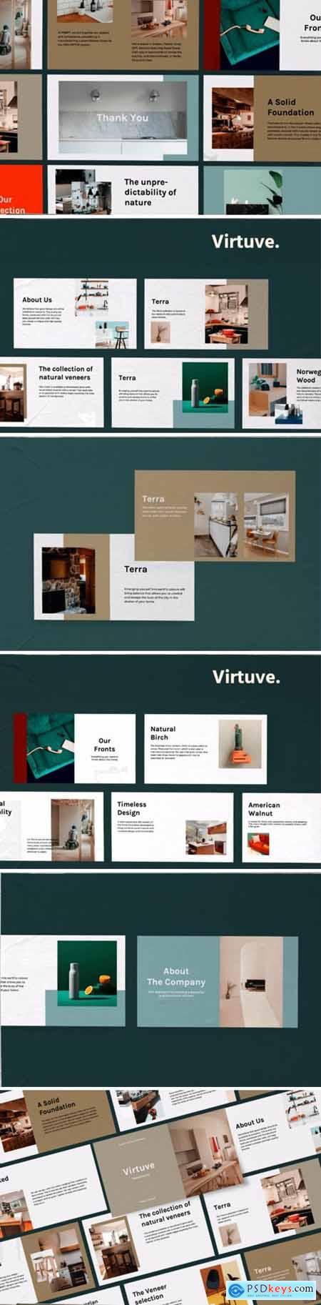 Virtuve - Powerpoint Template 3039489
