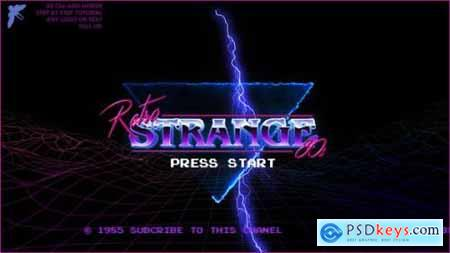 80s Retro Logo 25784228