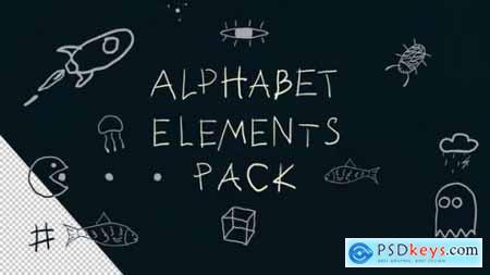 Alphabet Elements 25752244