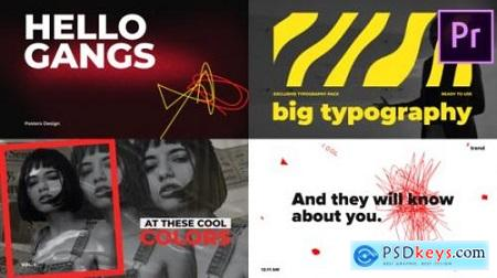 Big Bold Typography Premiere Pro Essential Graphics 25865072