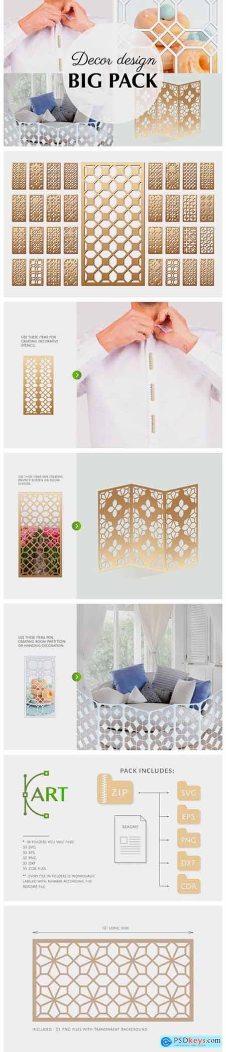 33 Templates Arab Geometric Pattern Grap 3042369