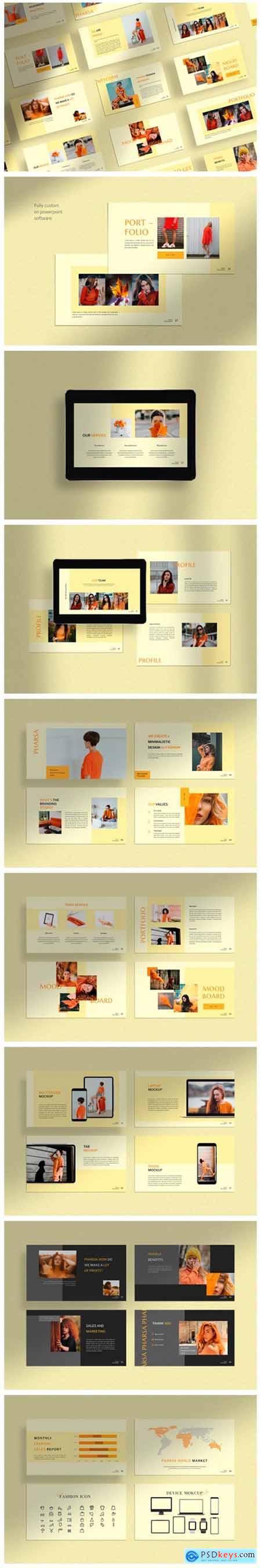 Pharsa - Minimalist Fashion Template 3038107