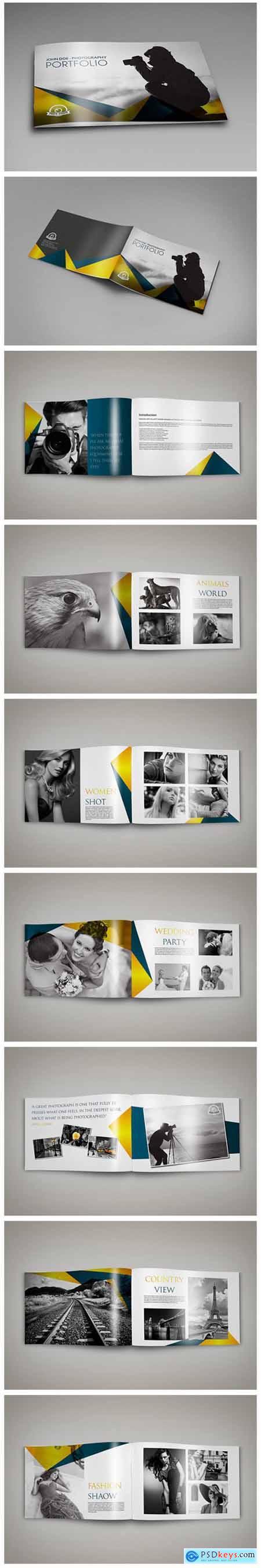Photography Portfolio Brochure Template 3040307