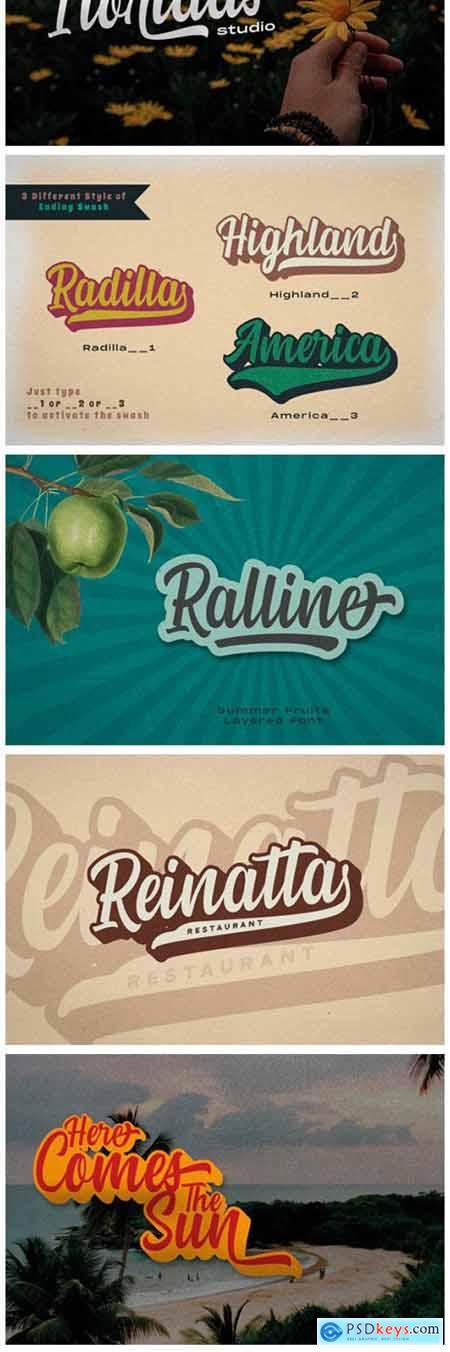 Summer Fruits Font