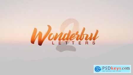 Wonderful Letters 2 22043498