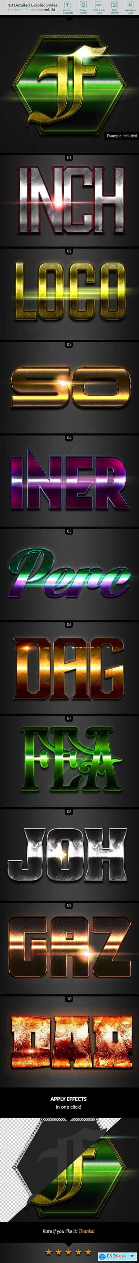 10 Text Effects Vol. 46 25813616