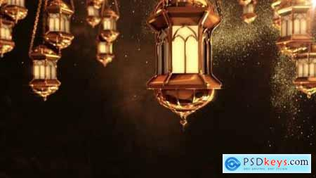 Ramadan Lantern Background Loop 2 25847138