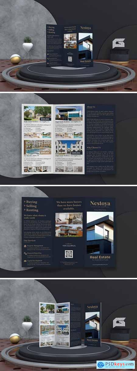 Nestoya - Real Estate Trifold Brochure