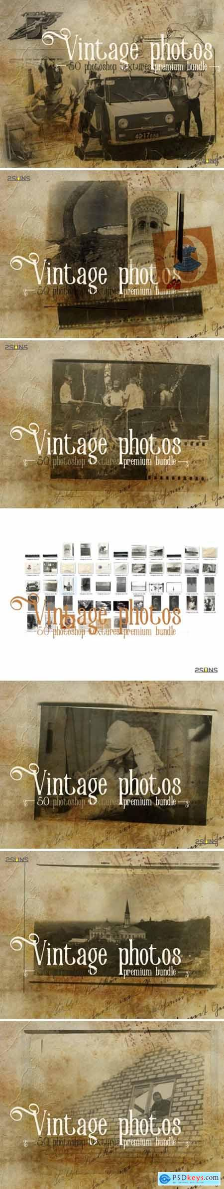 Premium Bundle Vintage Photoshop Texture 3041251