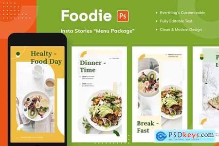 Foodie Insta Stories - Menu Package