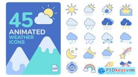 Animated Weather Icons 25901824