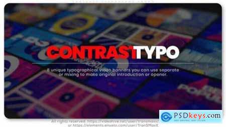 Contrast Typography Promo 25900458