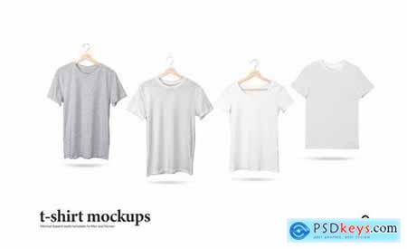 T-Shirt Mock-Up Set