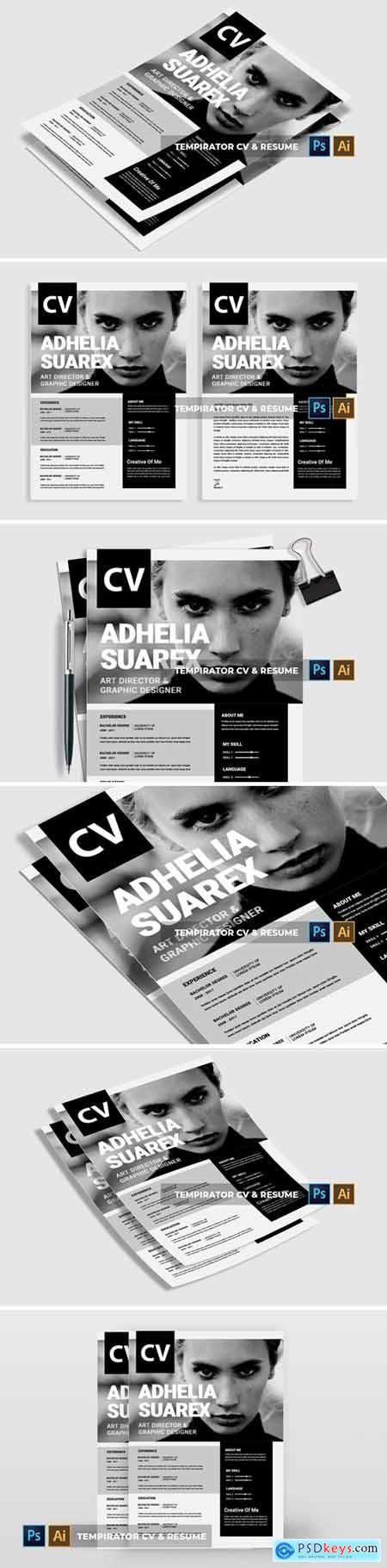 Tempirator - CV & Resume