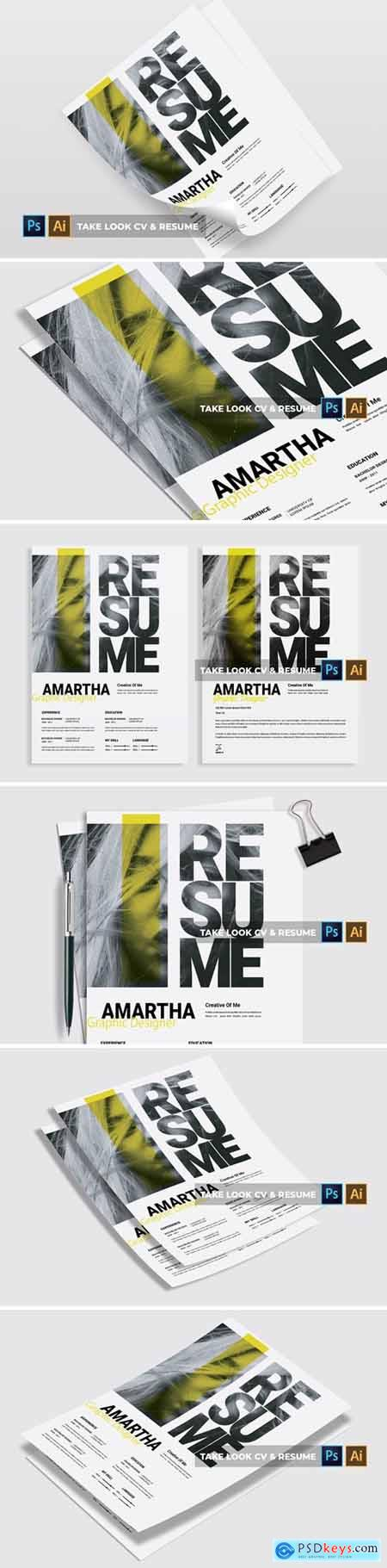 Take Look - CV & Resume