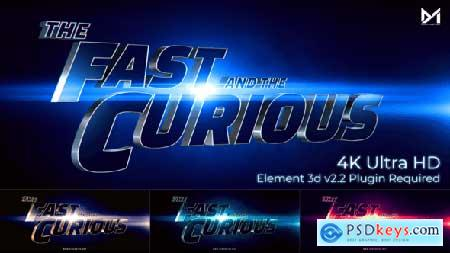 Cinematic Title Trailer_Fast and the curious 25897760