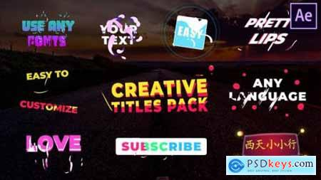 Creative Titles After Effects 25870462