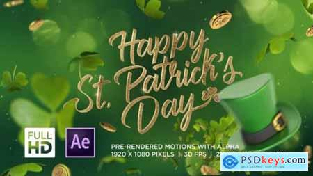 St Patrick's Day Greeting 25870659