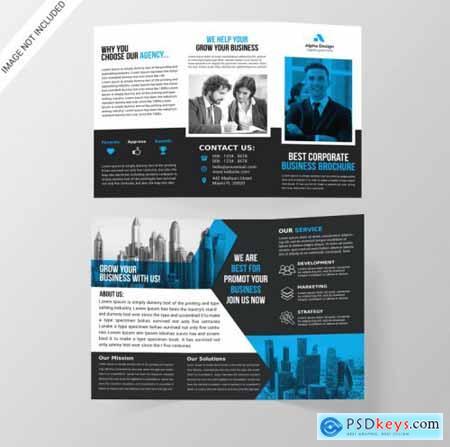 Corporate tri-fold brochure661