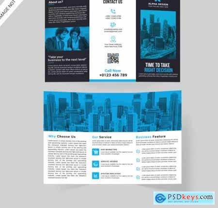 Corporate tri-fold brochure609