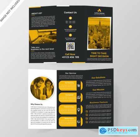 Corporate tri-fold brochure216
