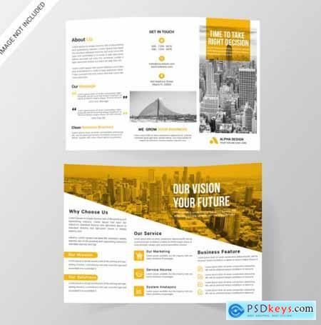 Corporate tri-fold brochure797