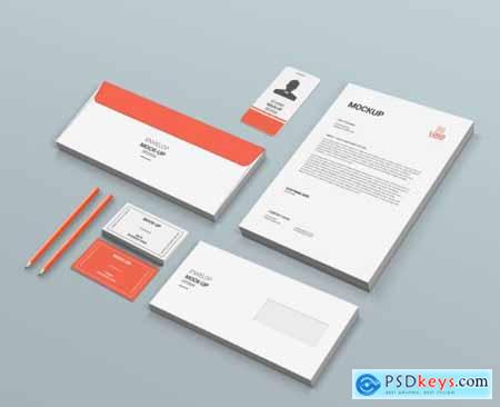 Stationary mock-up template 2