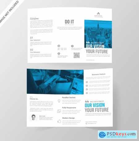 Corporate tri-fold brochure108