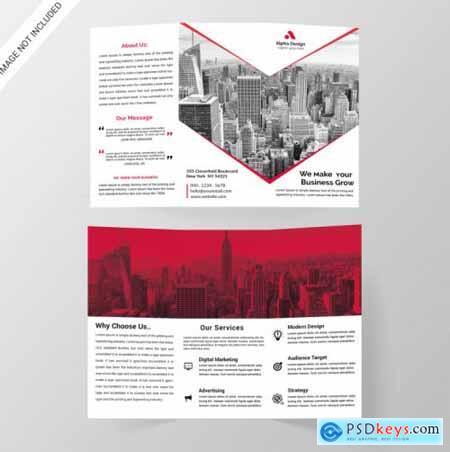 Corporate tri-fold brochure612
