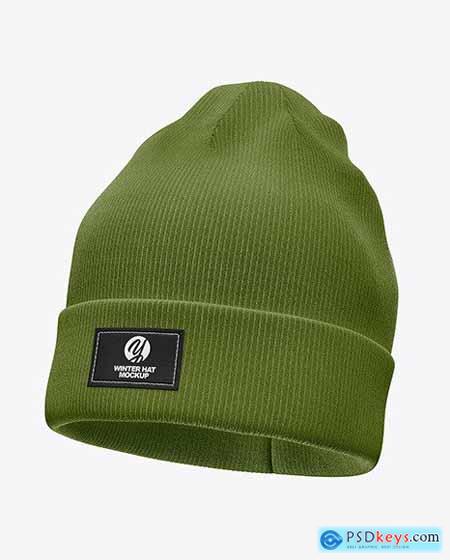 Winter Hat Mockup 56389
