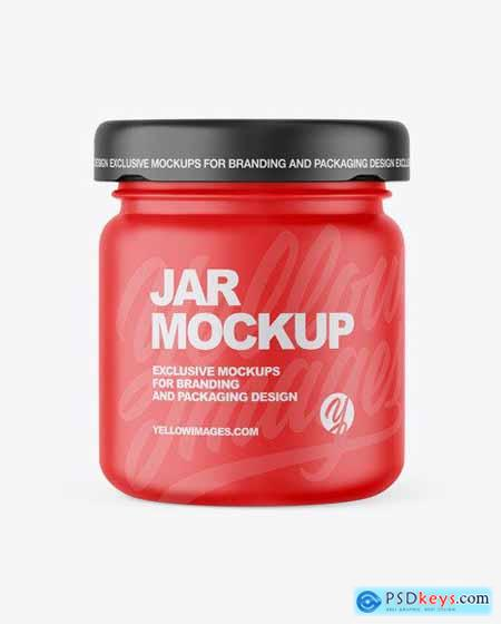 Matte Jar Mockup 56412