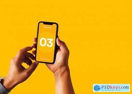 iPhone 11 Pro Mockup - Vol 05