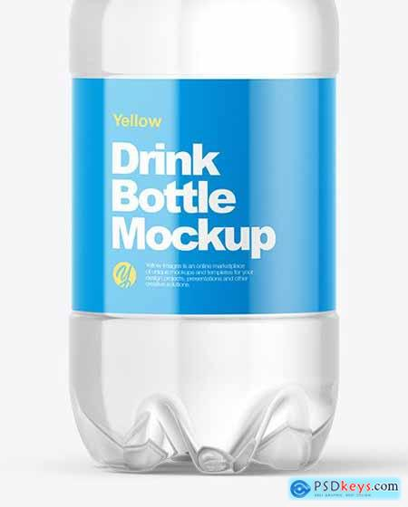 PET Water Bottle Mockup 56434